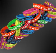 24 Bulk Wristbands Set